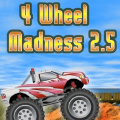 4 Wheel Madness 2.5 - Finish ahead of your opponent & crush cars in this truck racing game!