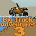 Big Truck Adventures 3 - The goal is to drive an off-road jeep to checkpoints as fast as you can!