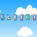 Bloons - Throw darts at the balloons, popping as many as possible with each dart.