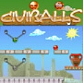 Civiballs - Choose Greece, Egypt or China civilization levels, then cut the chains!