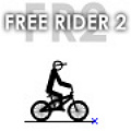 Free Rider 2 - A 2nd improved version where you create and play your own bike tracks.