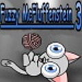Fuzzy McFluffenstein 3 - Fuzzy is back just having a ball doing what he loves to do!