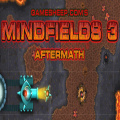 Mindfields 3 - Use the action tiles to direct the tanks to the destination portals.