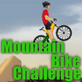 Mountain Bike Challenge - Your task is to ride over the mountain strategically & reach point B.
