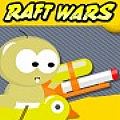 Raft Wars - Fight off pirates that are out to take your treasure.