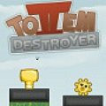 Totem Destroyer II - Destroy totems to get the idols back. You must get it on a dark block.