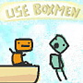Use Boxmen - Cast clones to help you reach the exit point of each level.