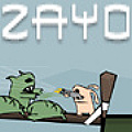 Zayo - Help Zayo the killer bunny, chase and defeat the fat zombie lord.