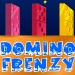 Domino Frenzy - Create successful domino chains to advance in this game.