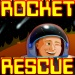 Rocket Rescue - Try to save your comrades by using the planets gravitational pull to keep your rocket on route.